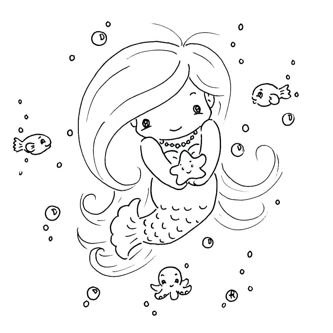 Mermaid Coloring Pages - coloring.rocks!