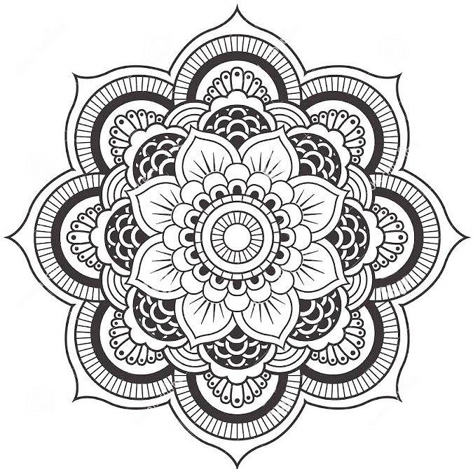mandala coloring pages forcoloringpages4