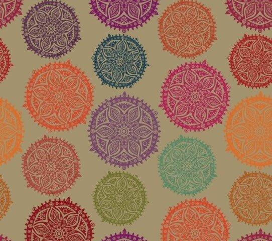 More Mandala Coloring!