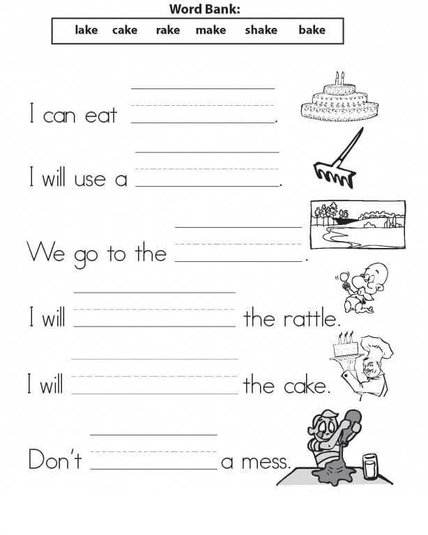 1st Grade Worksheets – Coloring.rocks!