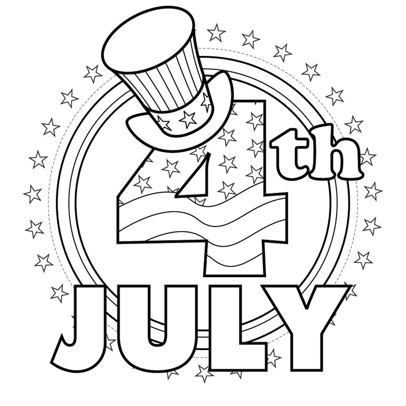 4th Of July Coloring Pages – Coloring.rocks!