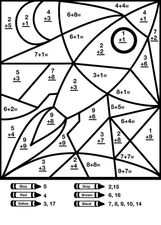 Math Coloring Pages – Coloring.rocks!