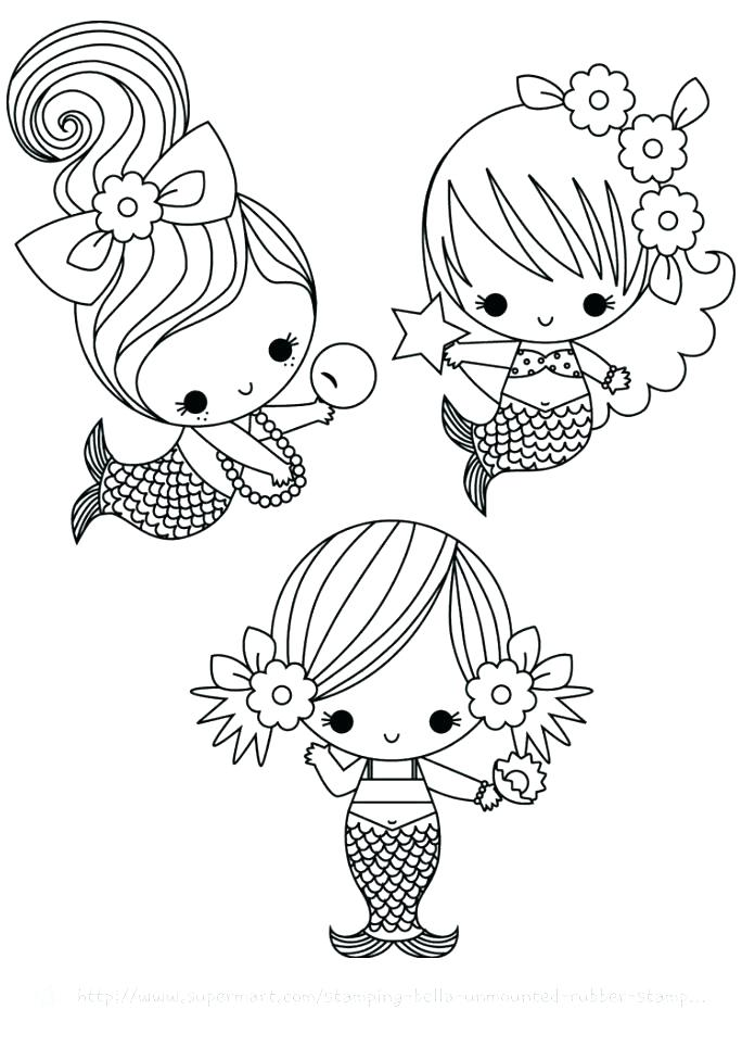 Mermaid Coloring Pages – Coloring.rocks!