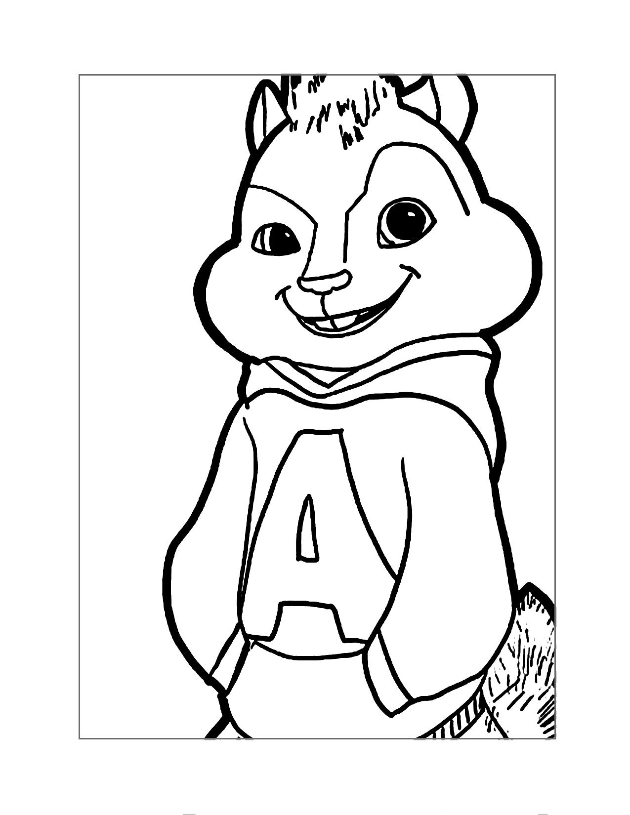 Alvin Chipmunks Coloring Pages