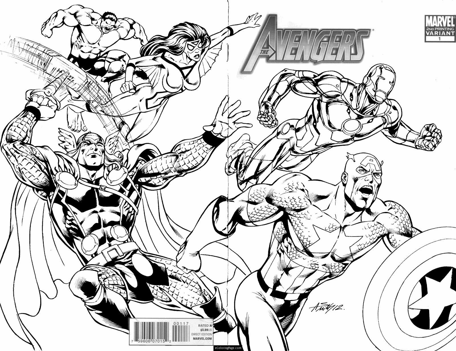 - Avengers Coloring Pages – Coloring.rocks!