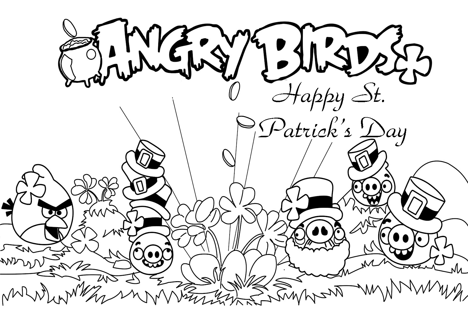 Angry Birds Seasons Coloring Pages - Get Coloring Pages | 1131x1600