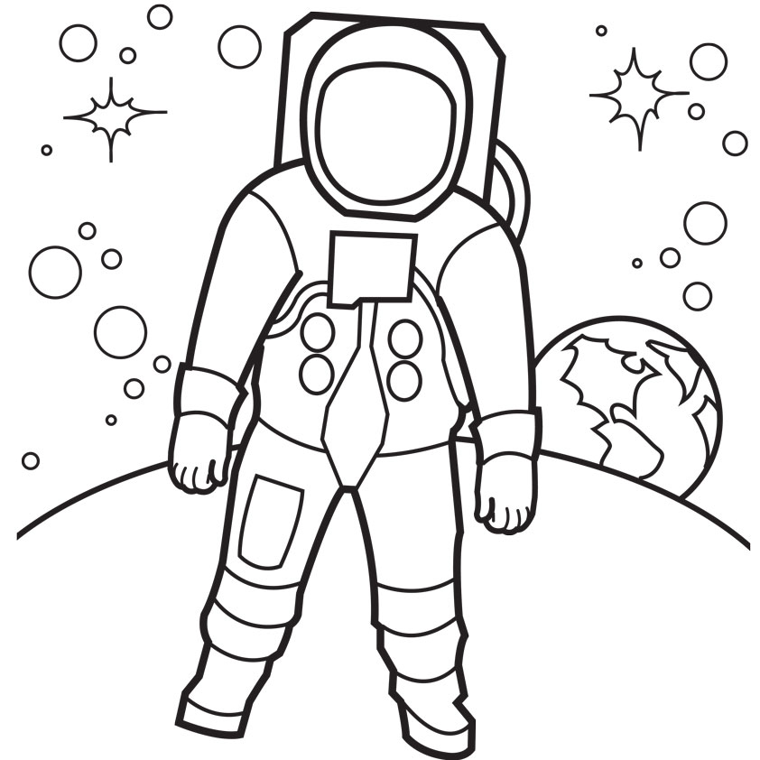 Solar System Coloring Pages! - coloring.rocks!