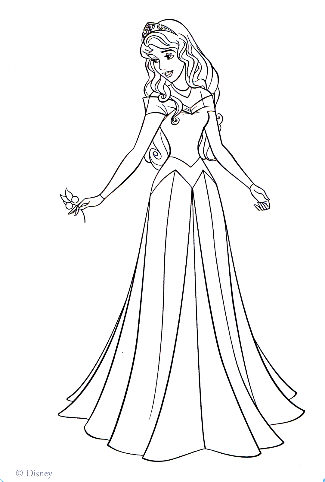 Aurora Disney Princess Coloring Pages