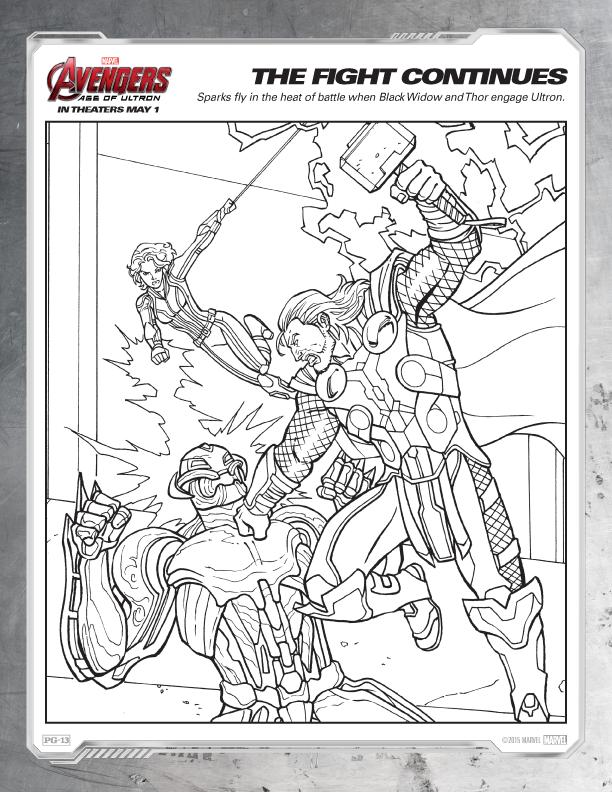 Marvel Avengers Coloring Book Loki Coloring Page Marvel Superhero ... | 792x612