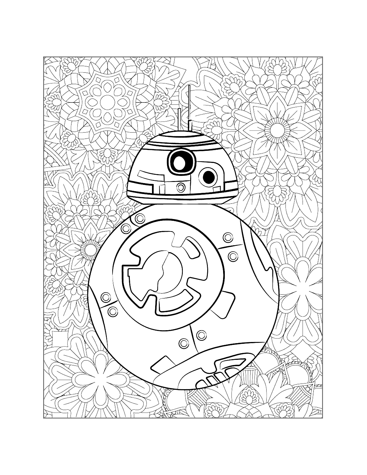 Bb8 Detail Coloring Page