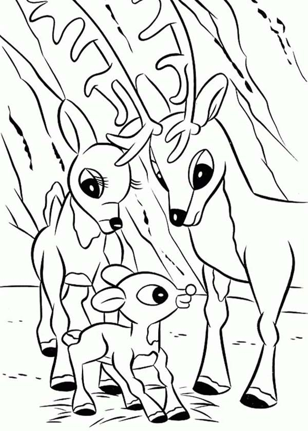 Rudolph Coloring Pages – coloring.rocks! | 840x600