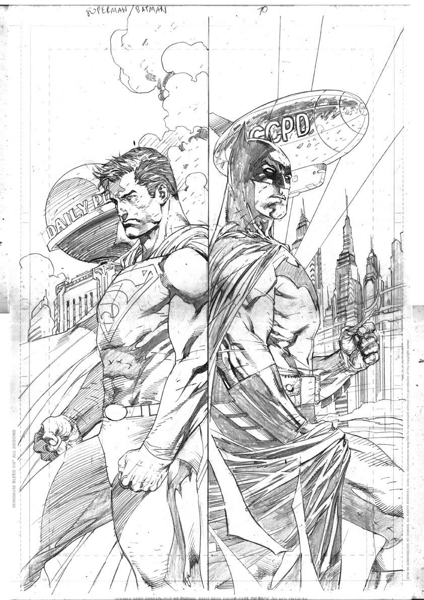 Batman Vs Superman Art Coloring Page