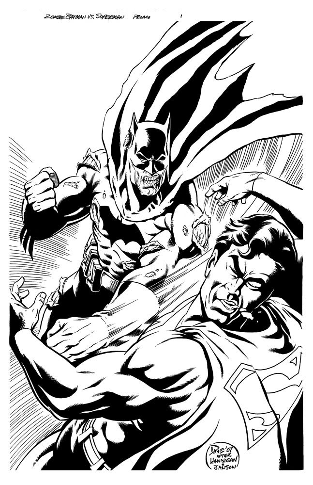 Batman Vs Superman Comic to Color