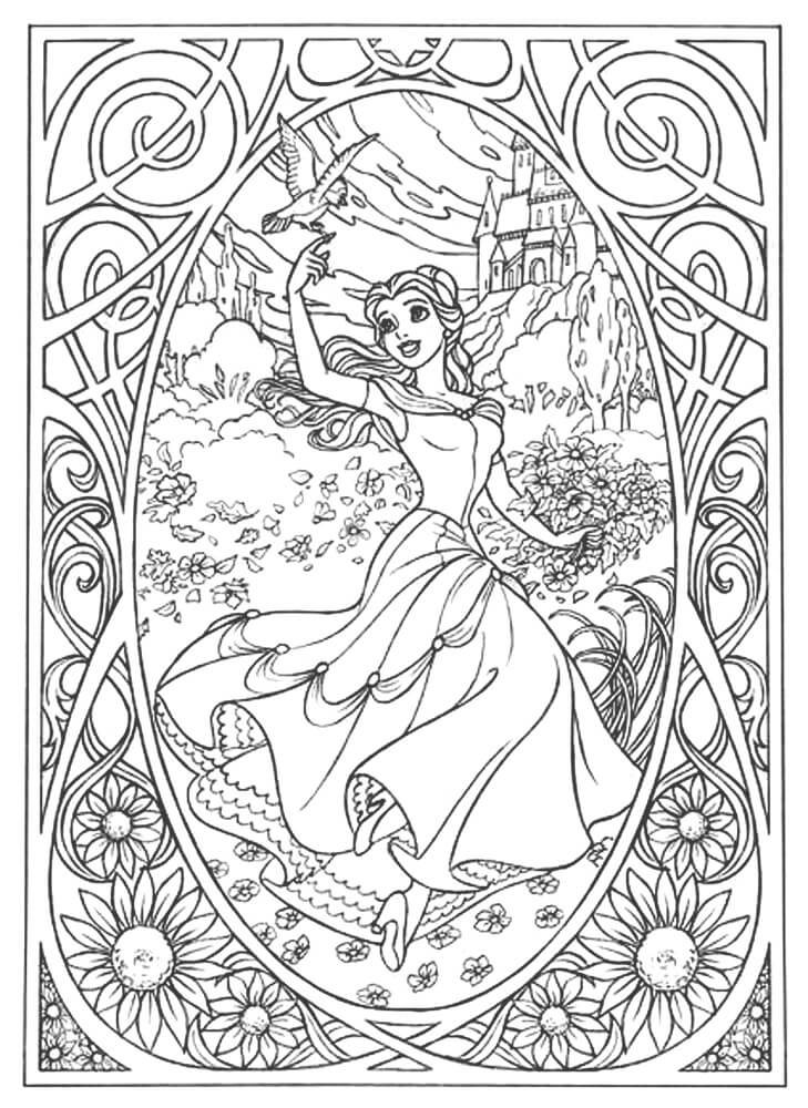 Disney Coloring Pages For Adults Coloring Rocks