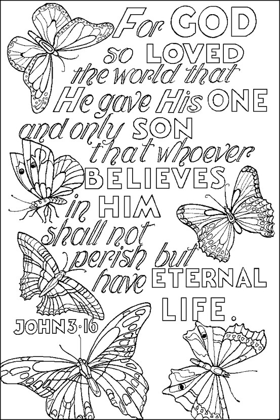 Bible Coloring Pages - John