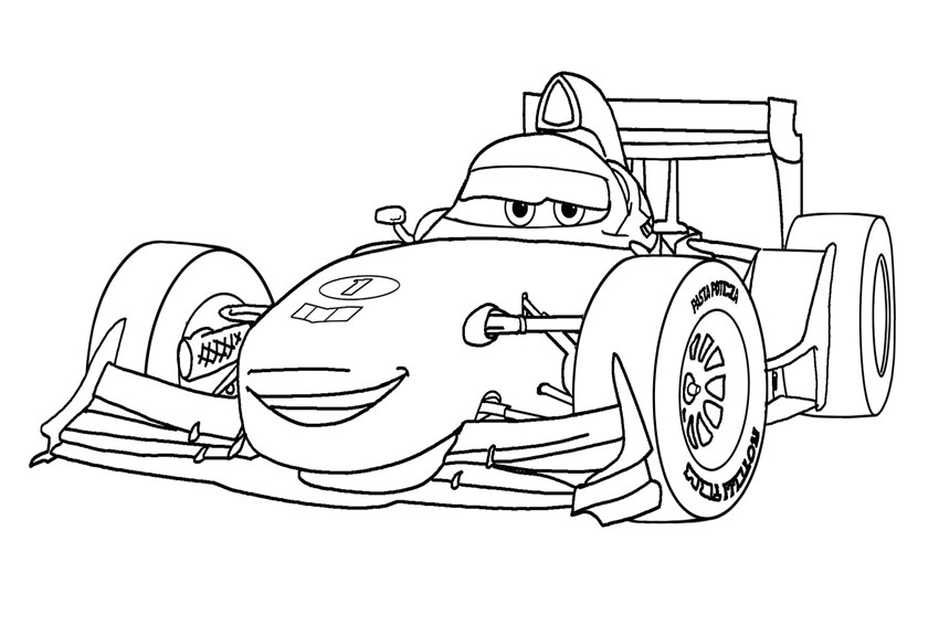 - Race Car Coloring Pages – Coloring.rocks!