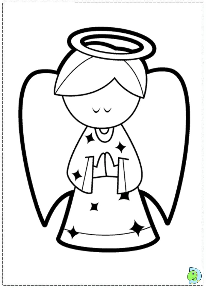 Angel Coloring Pages Coloring Rocks