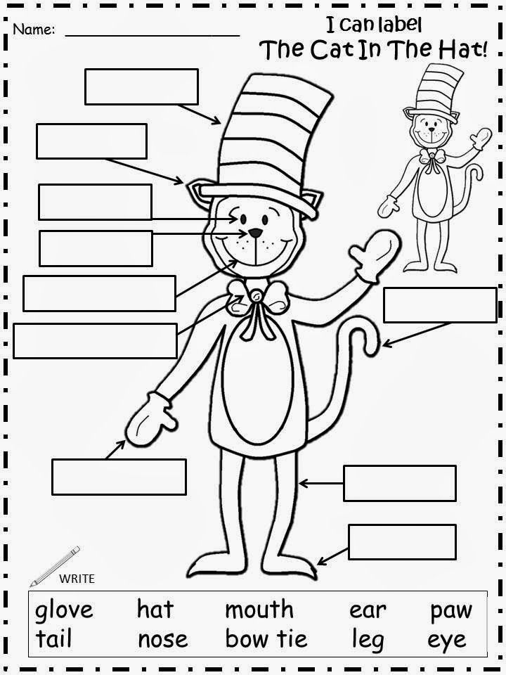 Cat in the Hat Worksheet