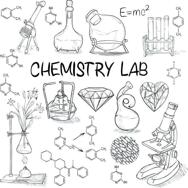 Chemistry Coloring Page
