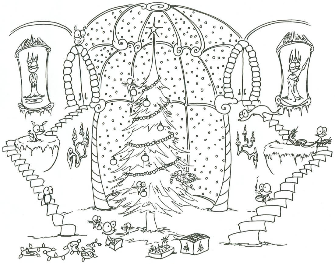 - Christmas Coloring Pages – Coloring.rocks!