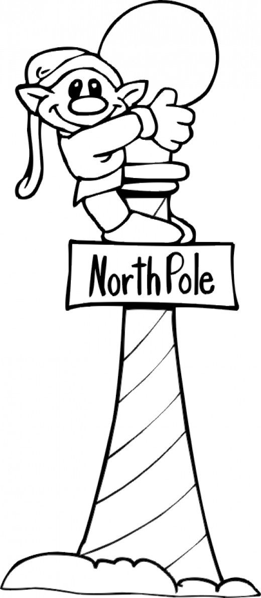 Christmas Elf Coloring Pages Coloring Rocks