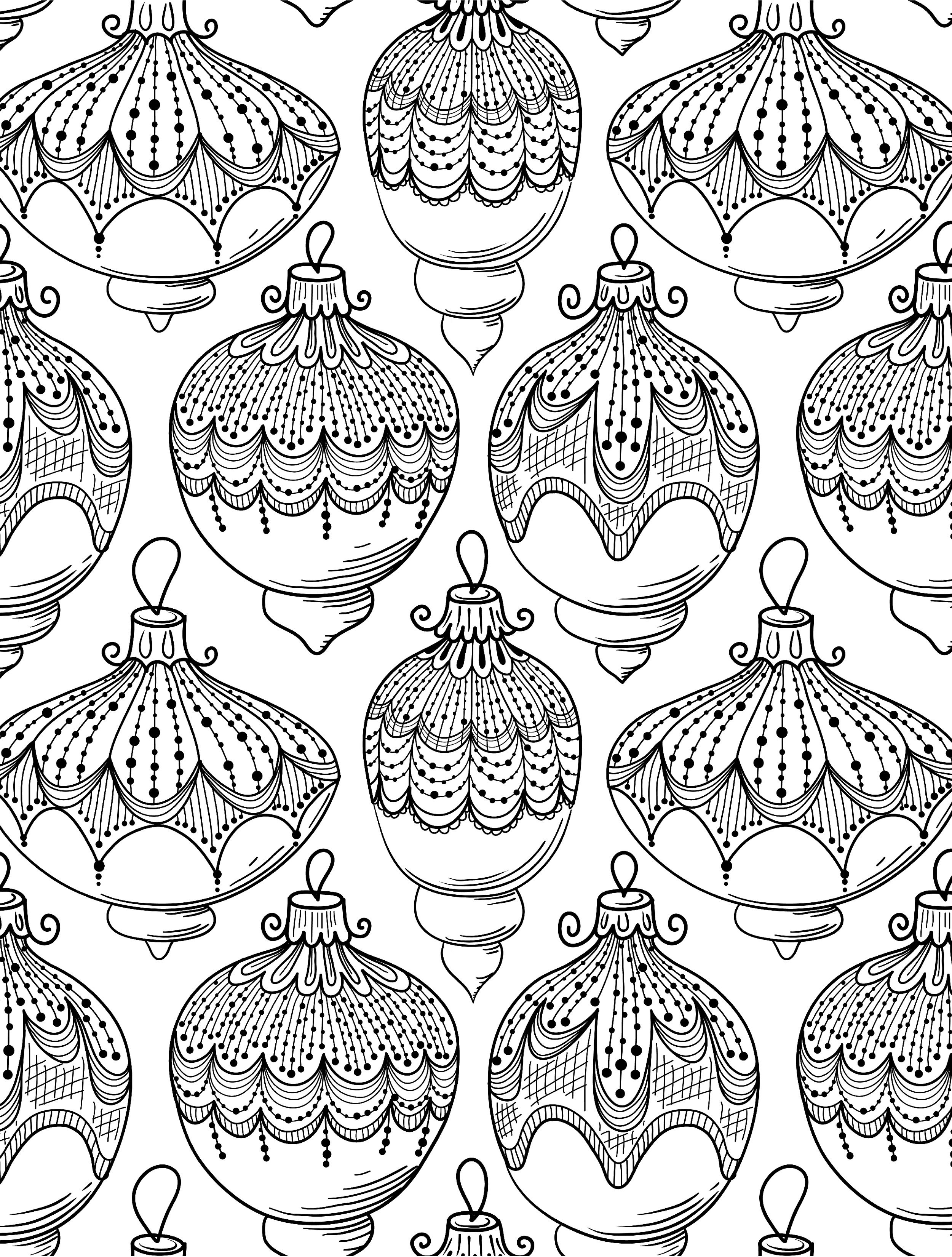 Christmas Coloring Pages Coloring Rocks
