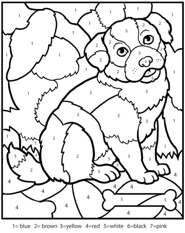 Coloring Pages For Kids With Numbers