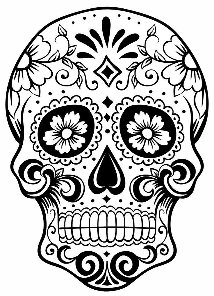 Color Sugar Skull Page