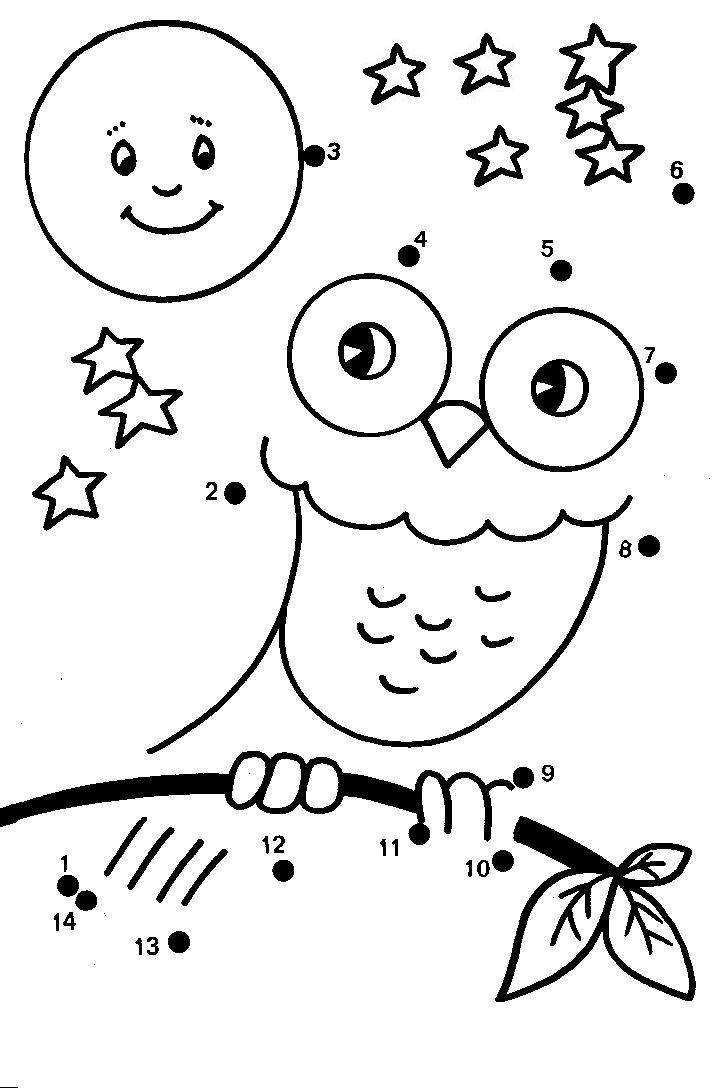 Connect the Dots Worksheet for Kindergarten