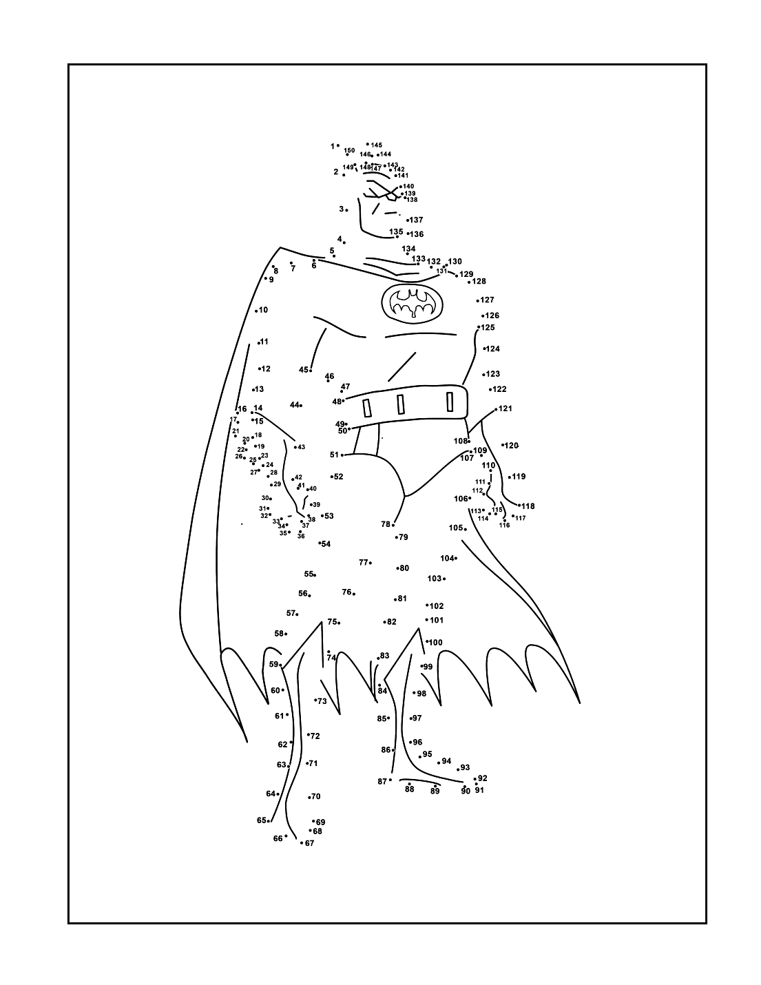 Connect The Dots Batmant