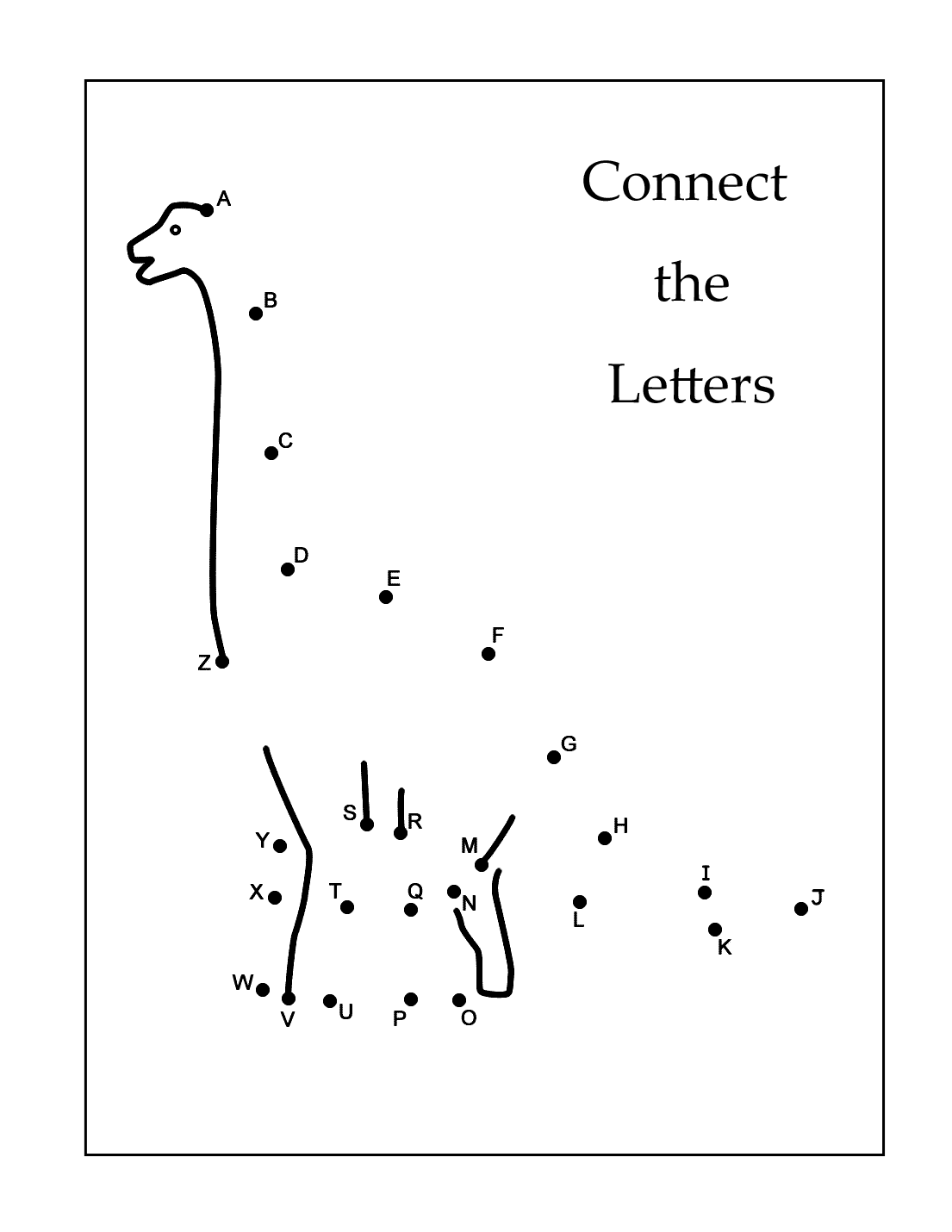 Connect The Letters
