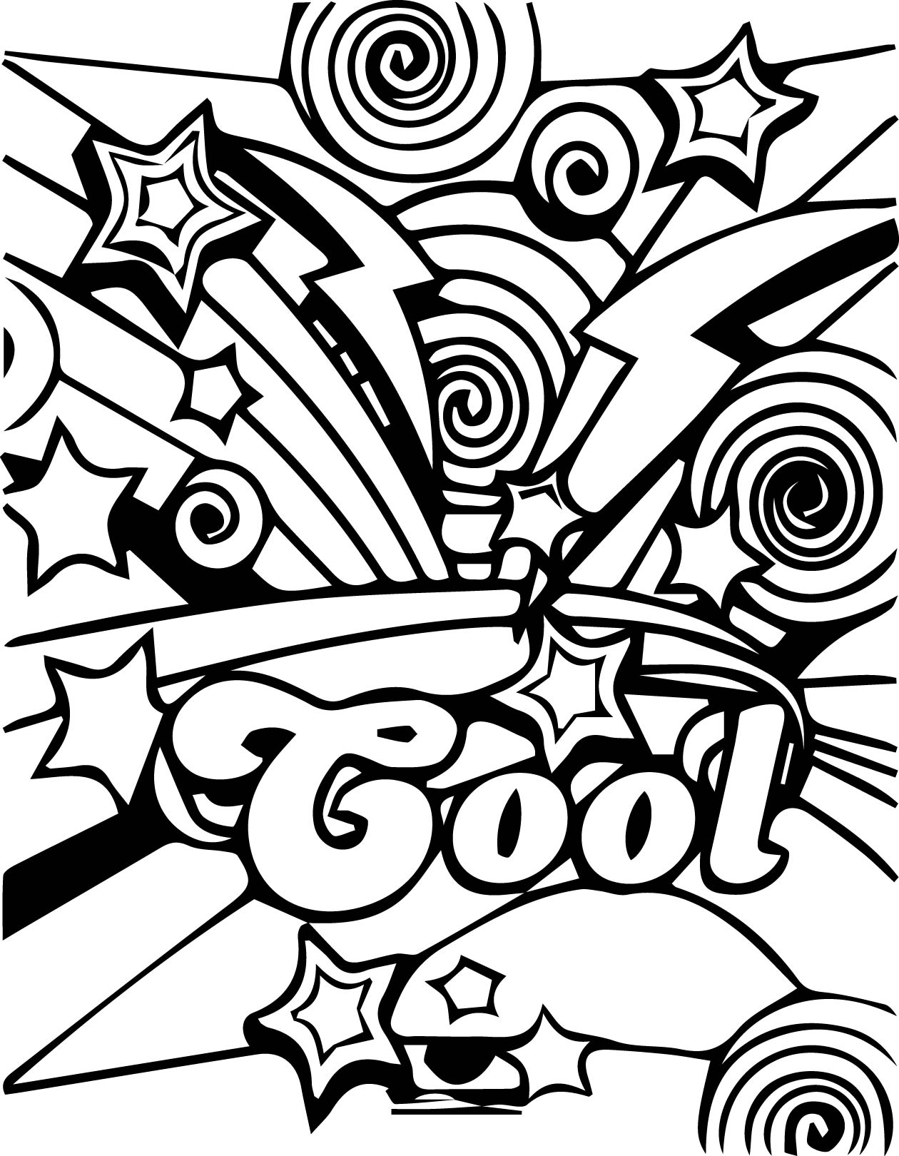 Cool Coloring Pages Coloring Rocks