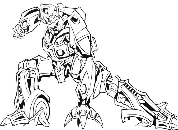 Transformers Coloring Pages Characters | 101 Coloring | 554x760