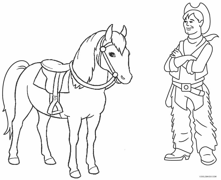 23+ Simple Cowboy Boot Coloring Page