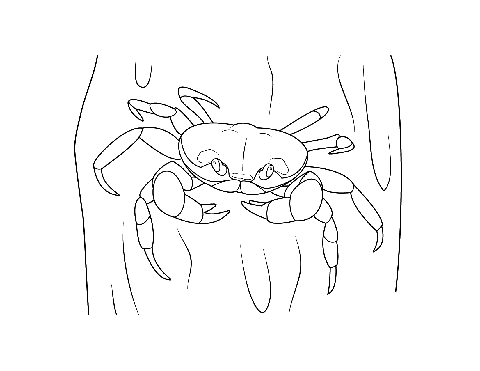 Creepy Crabs Coloring Pages
