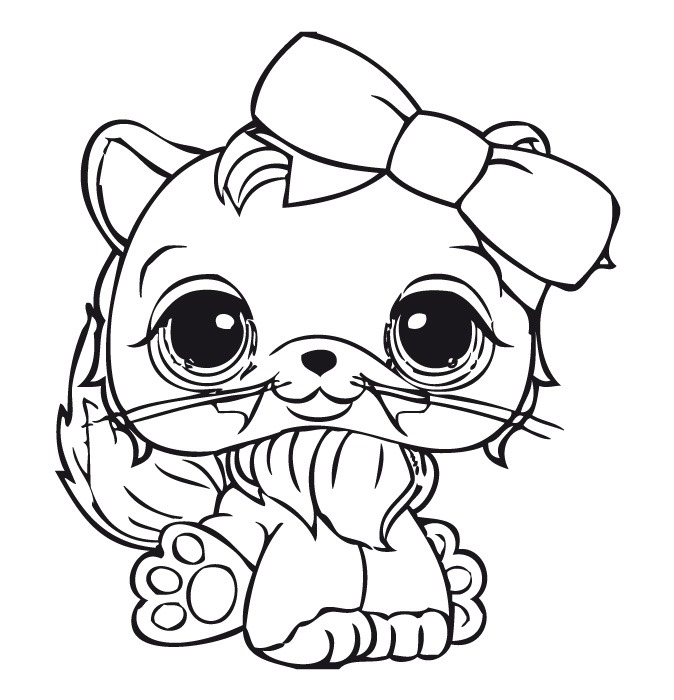 Littlest Pet Shop Coloring Pages for Kids - Free Printables | 700x674