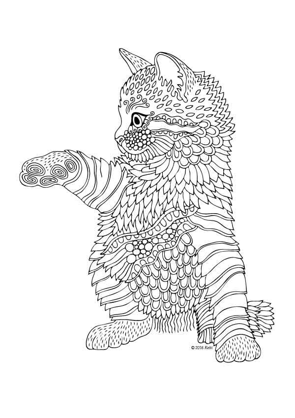 - Kitten Coloring Pages – Coloring.rocks!
