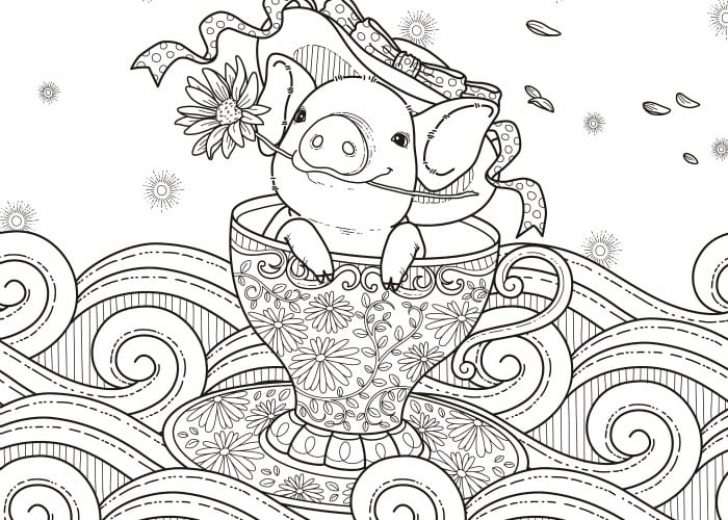 Pig Coloring Pages – Coloring.rocks!