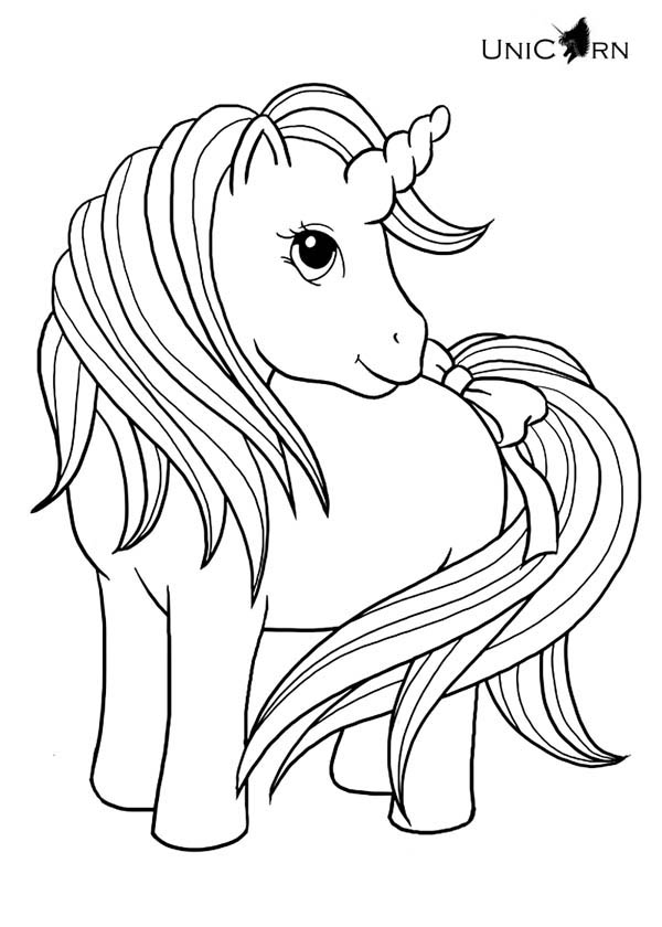 Unicorn Coloring Pages – coloring.rocks!
