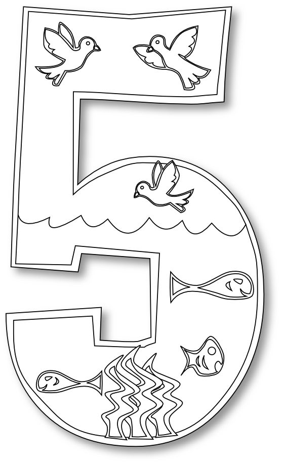 Day 4 Creation Coloring Pages – coloring.rocks!