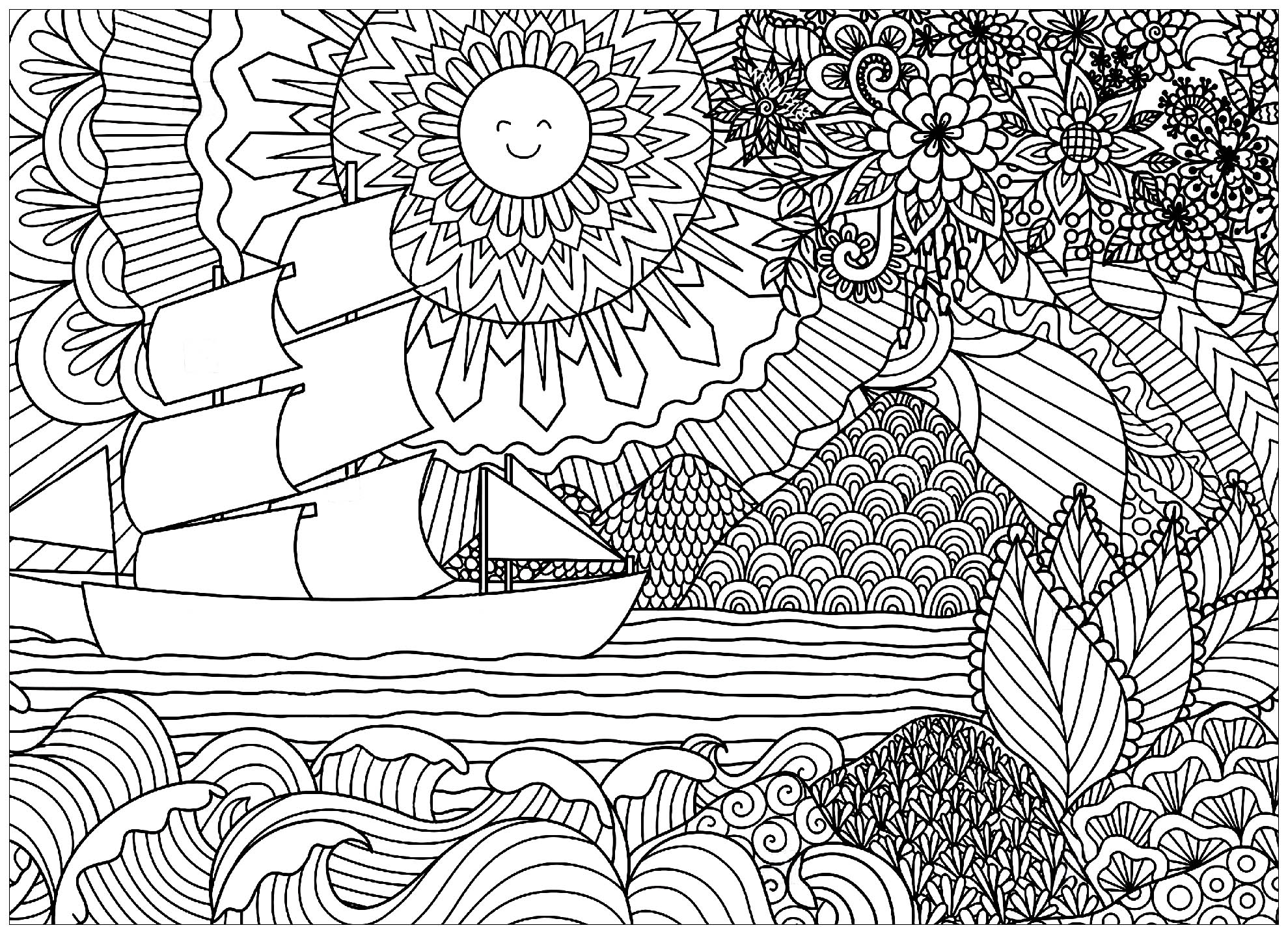 Coloring Pages for Teens - coloring.rocks!