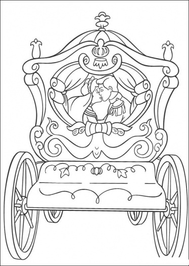 Disney Wedding Coloring Page