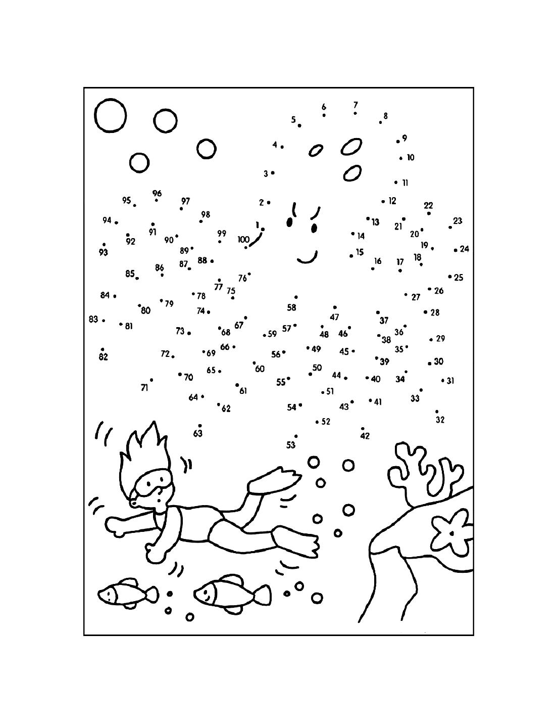 Dot To Dot Printables