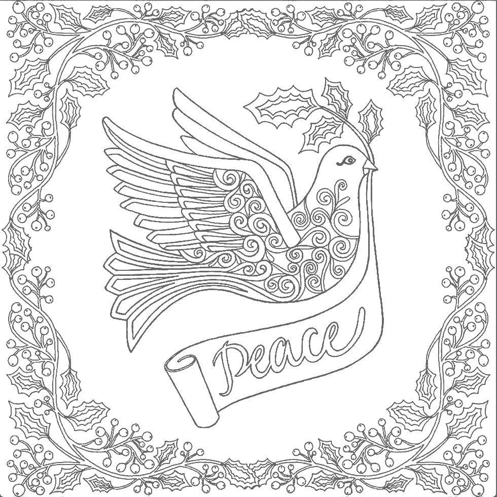 Peace coloring pages to download and print for free - Coloring Pages | 980x980