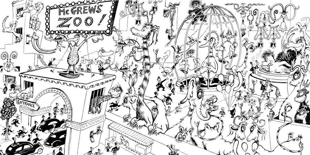 Dr Seuss Cool Coloring Pages