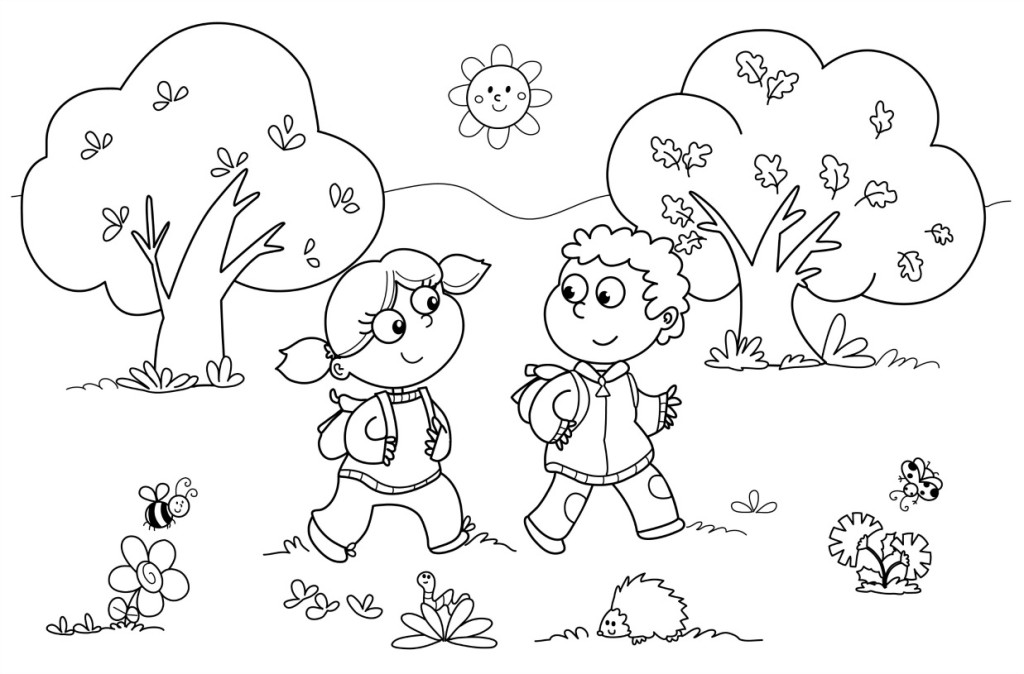 Easy Coloring Pages – Coloring.rocks!