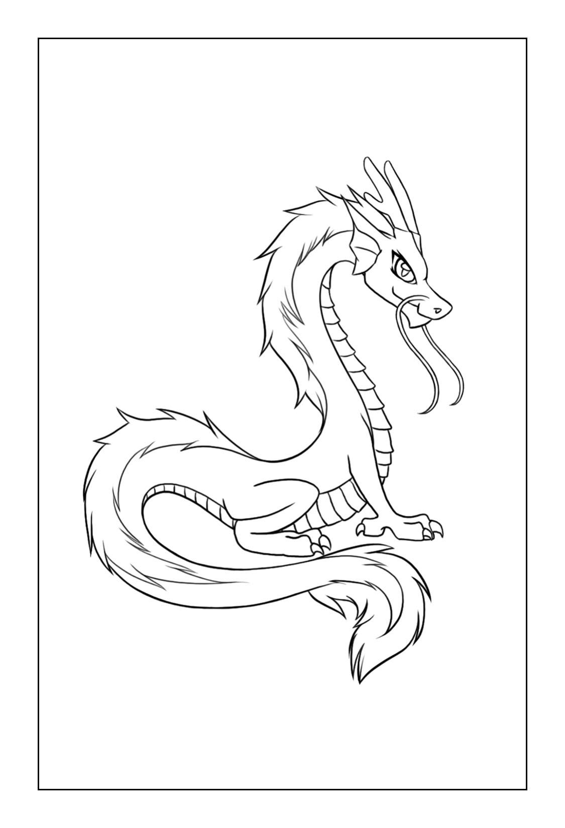 Dragon Coloring Pages – coloring.rocks!