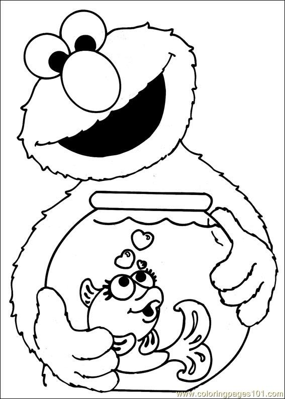 - Sesame Street Coloring Pages – Coloring.rocks!