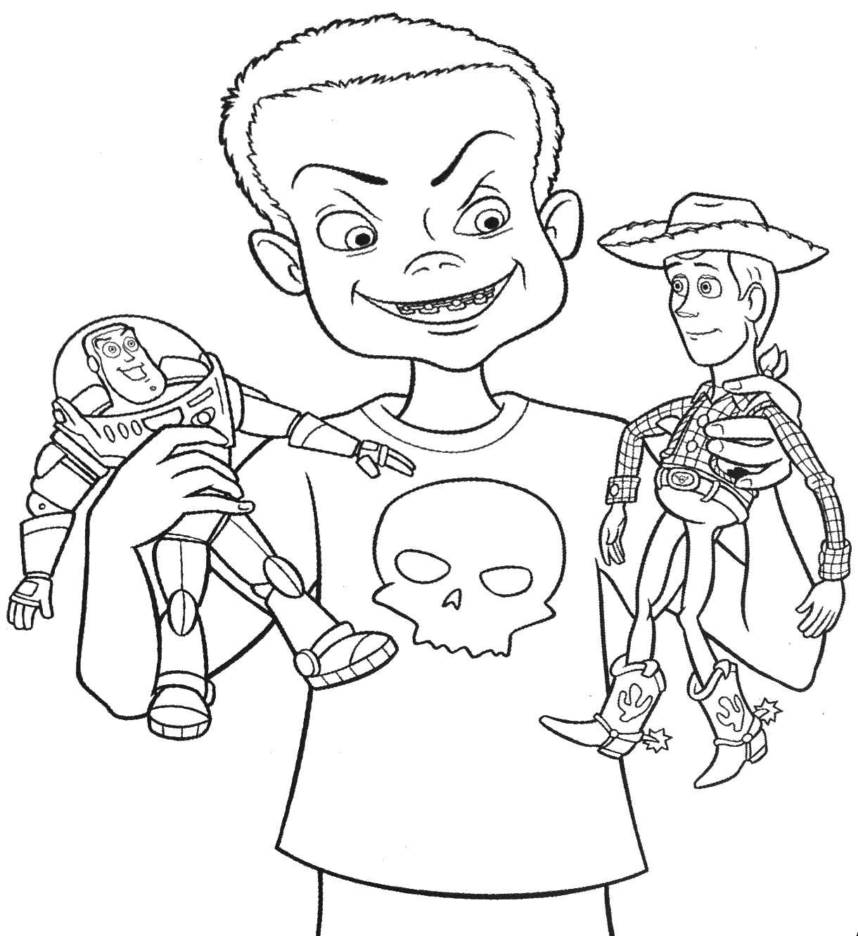 Hamm Toy Story Coloring Pages