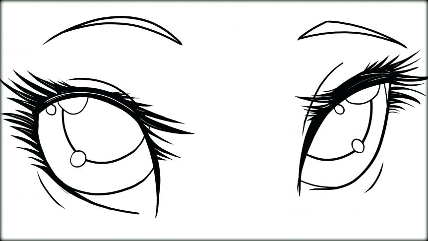 Eyes Coloring Pages for Teens